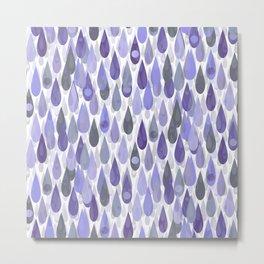 Let it Rain VI Metal Print
