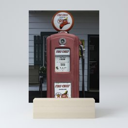 Fire Chief Gas Pump Mini Art Print