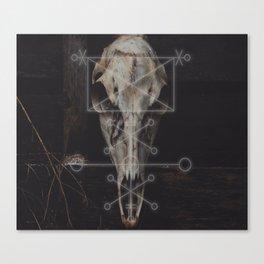 Icelandic Sigil Canvas Print
