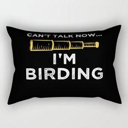 Bird Watching Gifts Rectangular Pillow