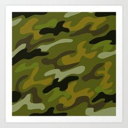 Camouflage 1 Art Print