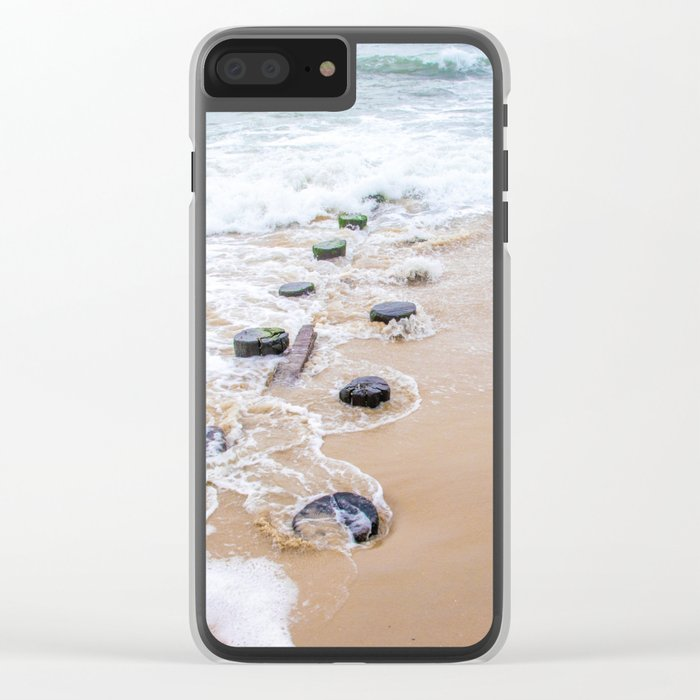 Serenity Retreating Clear iPhone Case