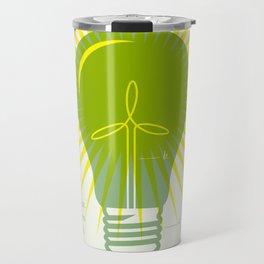 Bright Green Ideas Travel Mug