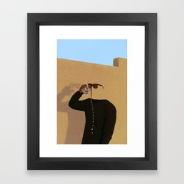 A Thirst That Can't Be Satisfied Framed Art Print