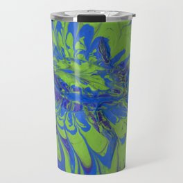 Paint Pouring 11 Travel Mug