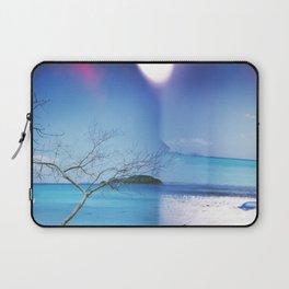 Beach Multiple Exposure Laptop Sleeve