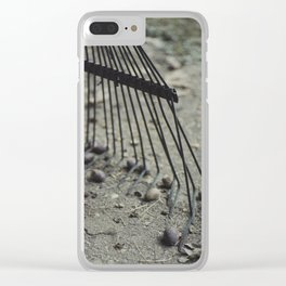 Fall Details 3 Clear iPhone Case