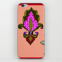 Fleur de Lis Home Decor iPhone Skin