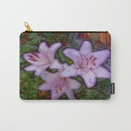 Lily in mauve Carry-All Pouch