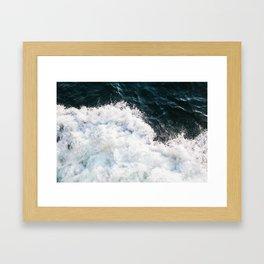 Martha's Vineyard Ferry Framed Art Print
