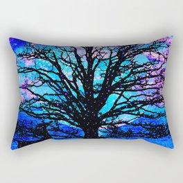 TREES AND STARS Rectangular Pillow