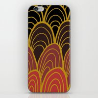 gatsby iPhone & iPod Skins featuring la soeur de Gatsby by sylvie demers