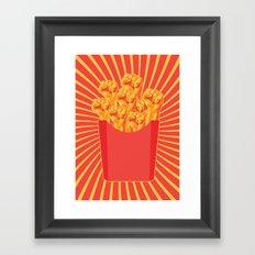 Revolucion con Fritas Framed Art Print
