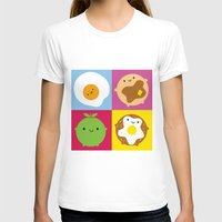 kawaii T-shirts featuring Kawaii Breakfast by Marceline Smith