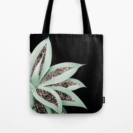 Agave Finesse Glitter Glam #2 #tropical #decor #art #society6 Tote Bag