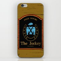 shameless iPhone & iPod Skins featuring The Jockey - Shameless by Jim T