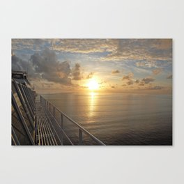 Carnival Dream - Sunrise Canvas Print