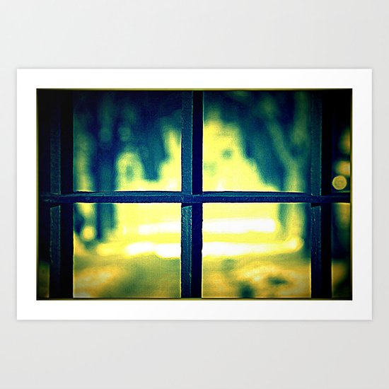 Life on the other side Art Print
