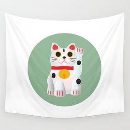 Lucky cat Wall Tapestry