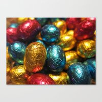 easter Canvas Prints featuring Easter by habish