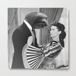 Sloth with Rossella O'Hara Metal Print