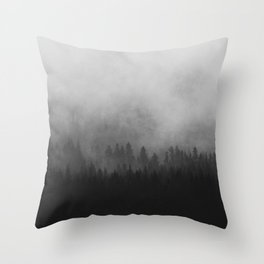 Mist II Throw Pillow