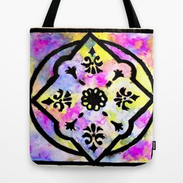Watercolor Design Tote Bag