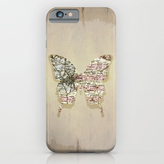 dallas butterfly iPhone & iPod Case