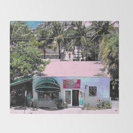 Key West Sunshine Throw Blanket