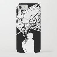 black swan iPhone & iPod Cases featuring Swan by Mariia Krugliakova