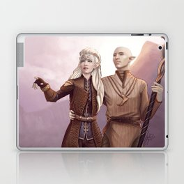 Dragon Age - Finding Skyhold - Solas and Inquisitor Laptop & iPad Skin