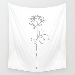 Fragile Rose Wall Tapestry