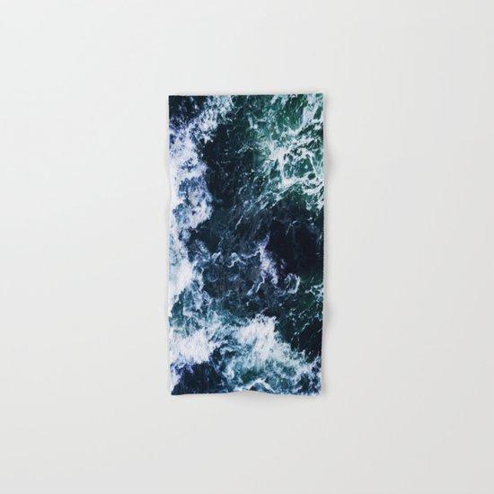 Wild ocean waves Hand & Bath Towel