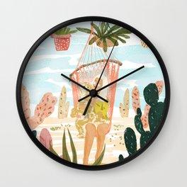 Desert Home Wall Clock