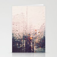 dc Stationery Cards featuring DC Rain by elle moss