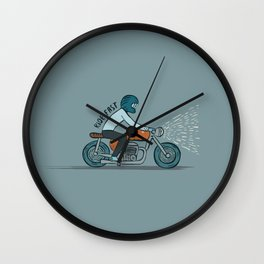 Ride Fast Wall Clock