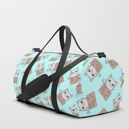Here's Your Sign - Kitty Cat Says Eat a Bag of Dicks Duffle Bag