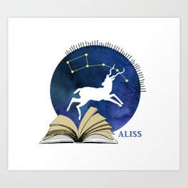 2016 ALISS (Dark) Art Print