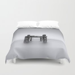 Ghosts of our Fathers Duvet Cover