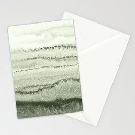 WITHIN THE TIDES - SAGE GREEN by MS  Stationery Cards