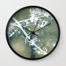 Nature's Cross Section Wall Clock