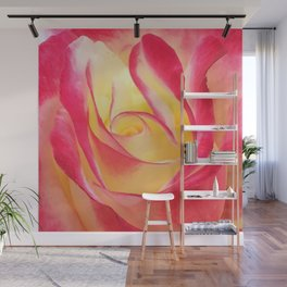 Summer Rose Untouched Wall Mural