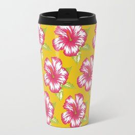 Kennedy Yellow Travel Mug