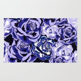 Beautiful Violet Roses Rug