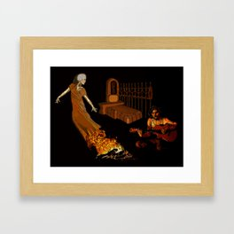 Dia de los Muertos: Private Seance Framed Art Print