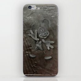 Mickey in Carbonite iPhone Skin