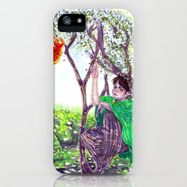 The Hawthorn Tree sign iPhone Case