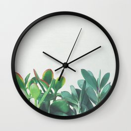 Crassula Group Wall Clock