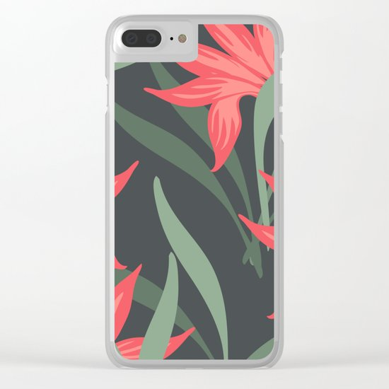 Flowers -a1 Clear iPhone Case