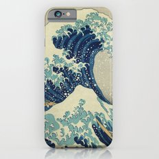 The Great Wave off Kanagawa iPhone 6s Slim Case
